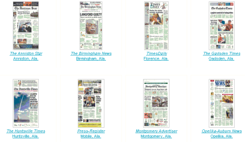 Newseum Newspaper Covers